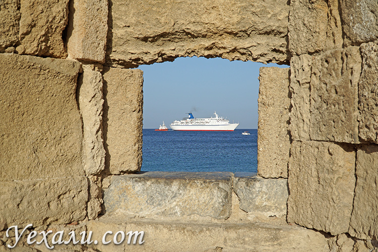 Самые красивые фото города Родос, Греция.