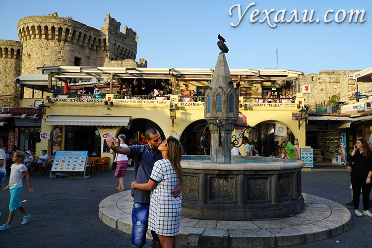Лучшие фото города Родос, Греция. Старый город.