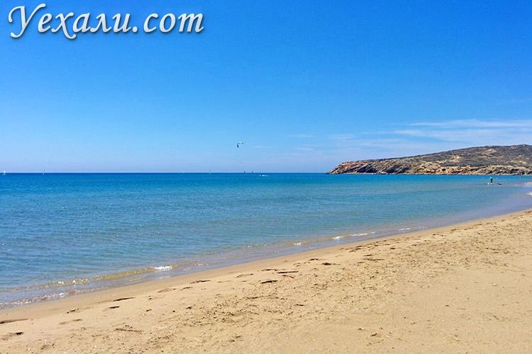 Главные достопримечательности острова Родос, Греция: мыс Прасониси.