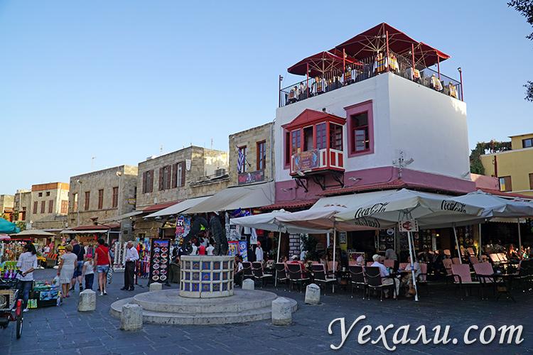 Старый город Родос, достопримечательности. На фото - улица Старого города.