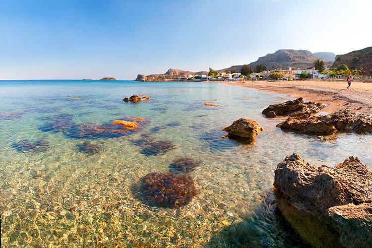 Самые красивые пляжи острова Родос, Греция: Стегна.