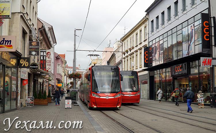 Трамваи в Братиславе