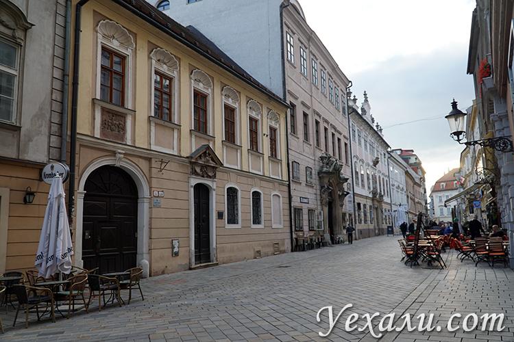 Центральные улицы Братиславы