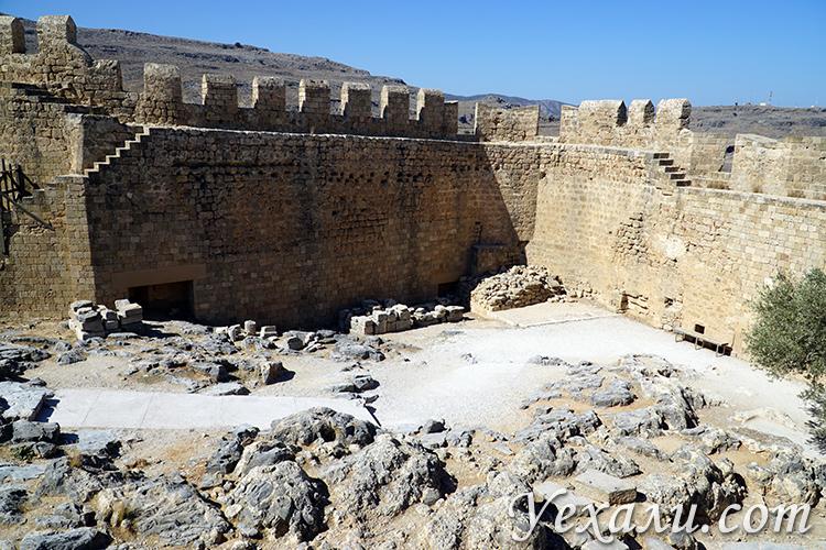 Акрополь Линдоса на Родосе отзывы