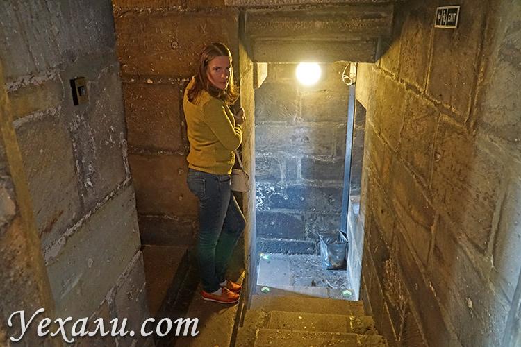 Внутри Староместской мостовой башни.