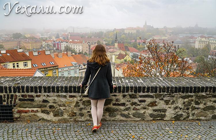 Прага, Вышеград, фото с обзорной площадки.