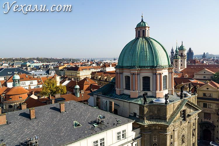 Лучшие смотровые площадки Праги: фото со Староместской мостовой башни (Карлов мост).