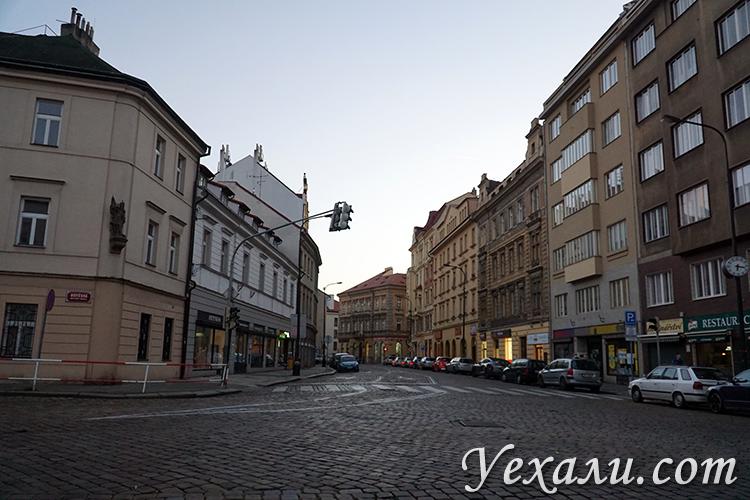 Фото вечерней Праги