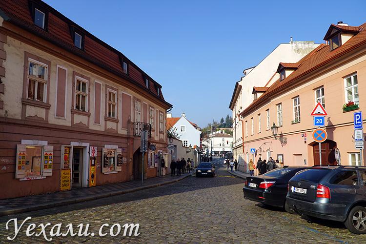 Как выглядят улицы Праги? Фото