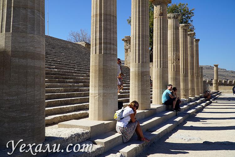 Акрополь Линдоса - одна из главных достопримечательностей острова Родос