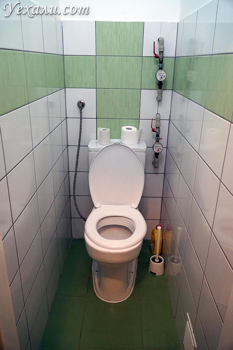 Туалет в квартире