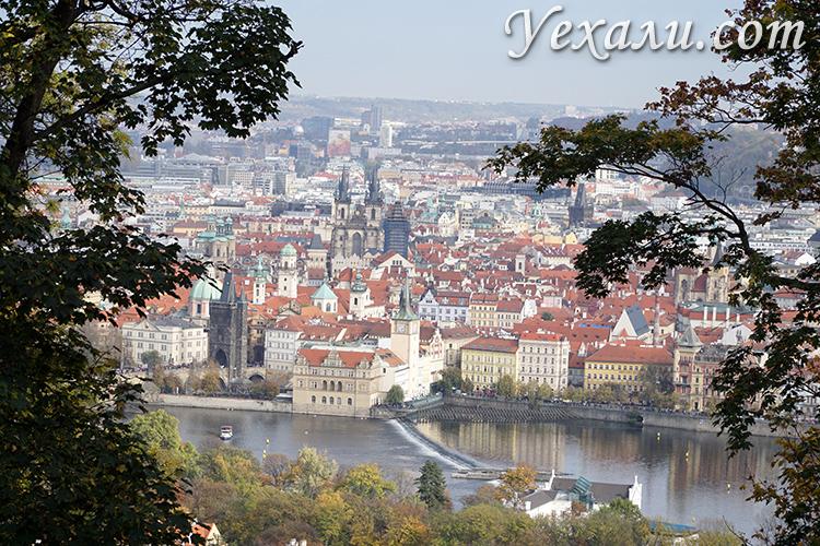 Прогулка по Петршину в Праге
