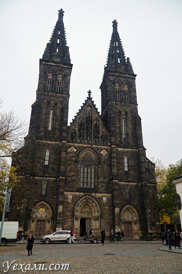 Базилика Петра и Павла в Вышеграде Прага фото