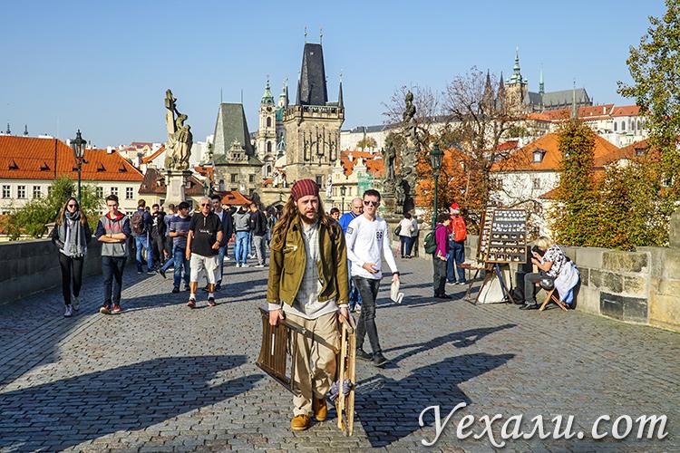 Что посмотреть в Праге за неделю самостоятельно. На фото: Карлов мост.