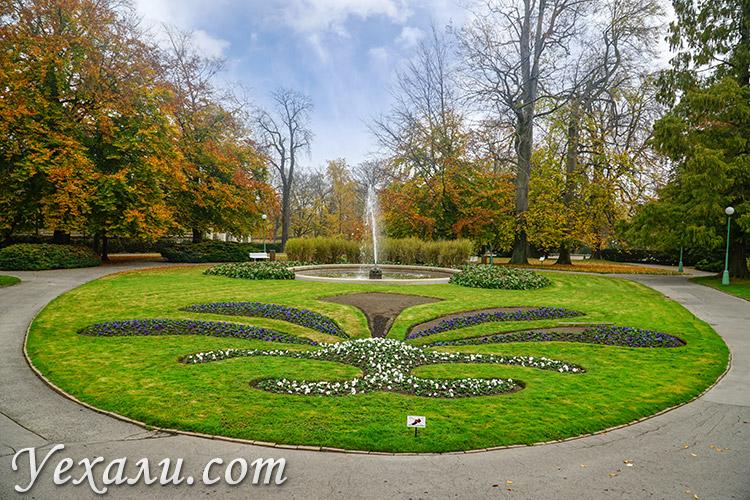 Основные достопримечательности Праги (Чехия). На фото: Королевский сад.