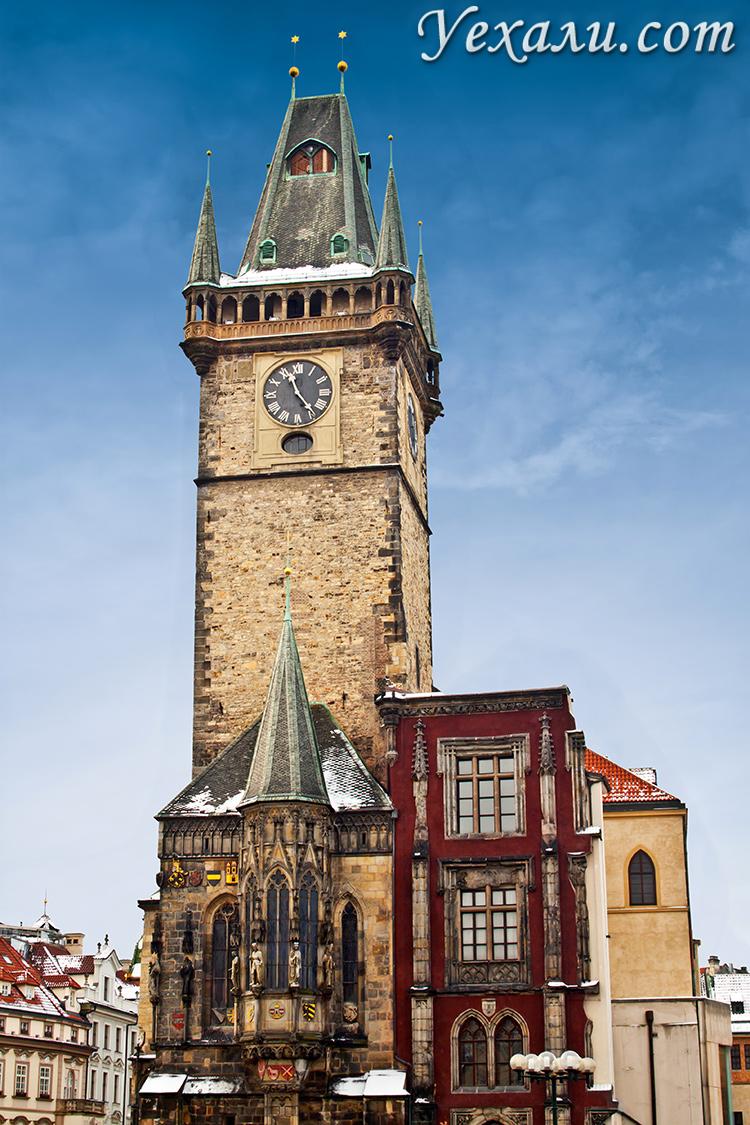 Староместская площадь в Праге. На фото: Староместская ратуша.