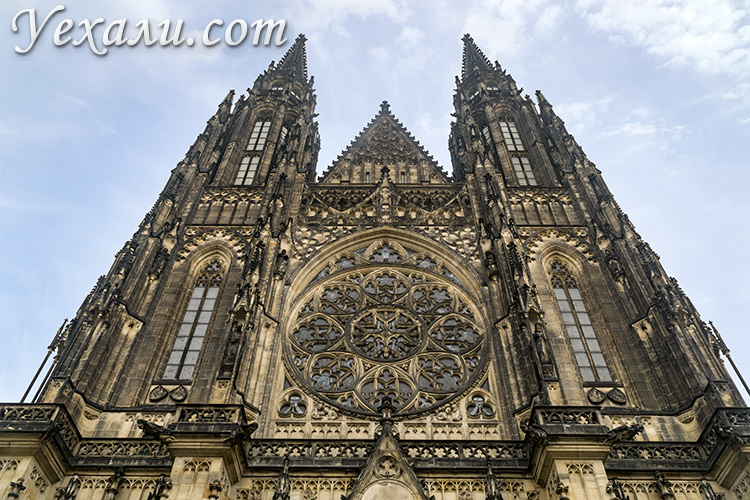 Что посмотреть в Праге за 3 дня самостоятельно. На фото: Собор святого Вита.