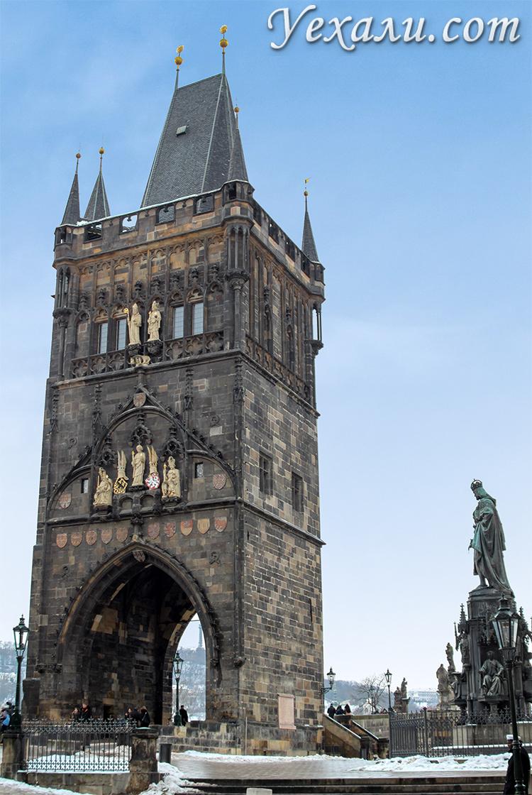 Староместская мостовая башня Карлова моста, Прага.