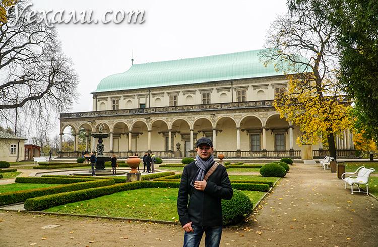 Достопримечательности Пражского Града, Чехия. На фото: Летний Королевский дворец.