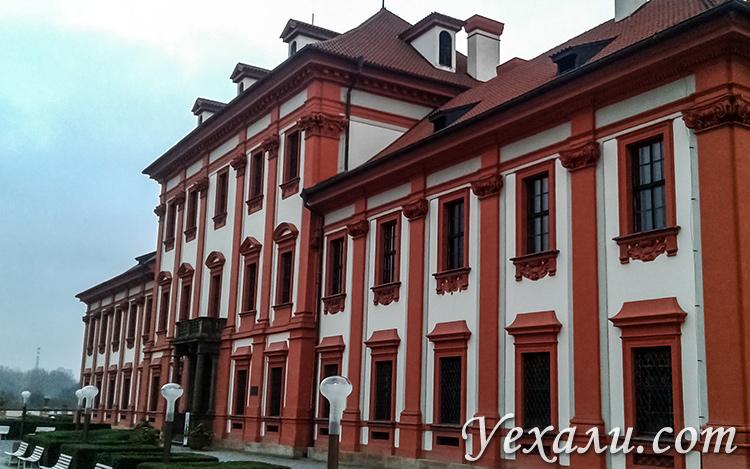 Основные достопримечательности Праги (Чехия). На фото: Тройский замок.