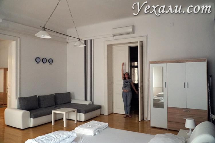 Квартира с высокими потолками в Будапеште