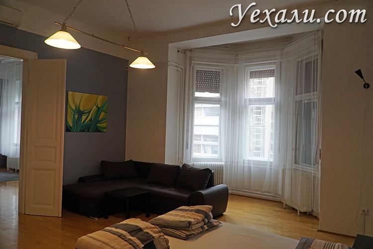 Апартаменты на две семьи в Будапеште