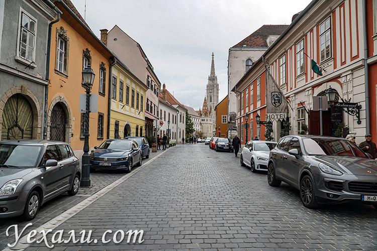 Лучшие фото Будапешта: улицы Будайского холма.