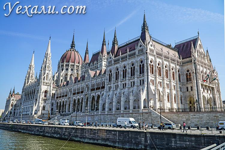 Как добраться в Будапешт из Вены, Праги, Братиславы? На фото: Венгерский Парламент.