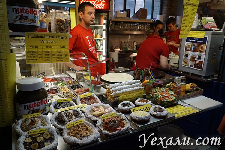 Где невысокие цены на еду в Будапеште