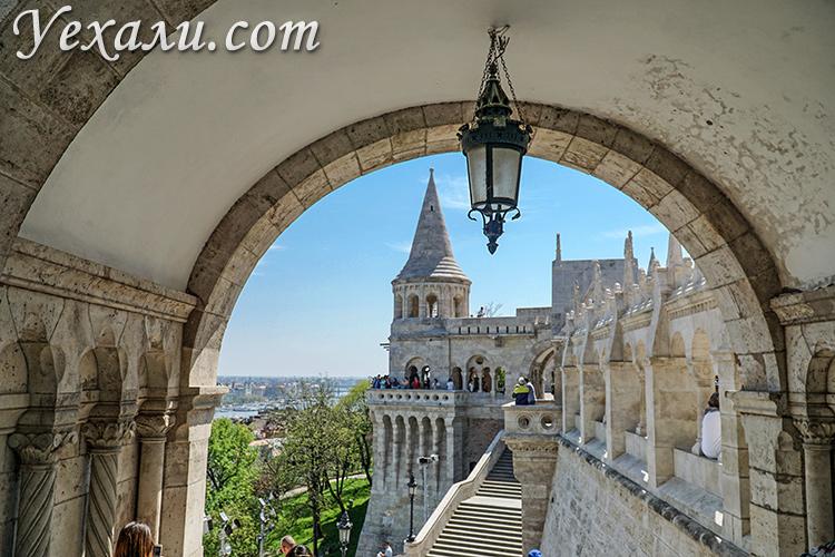 Фото достопримечательностей Будапешта: Рыбацкий Бастион.