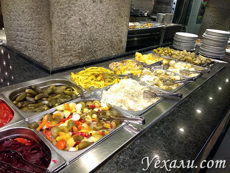 Дешевые кафе в центре Будапешта