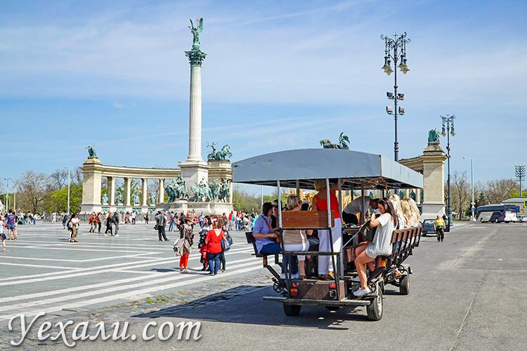 Самые красивые фото Будапешта, Венгрия: площадь Героев.