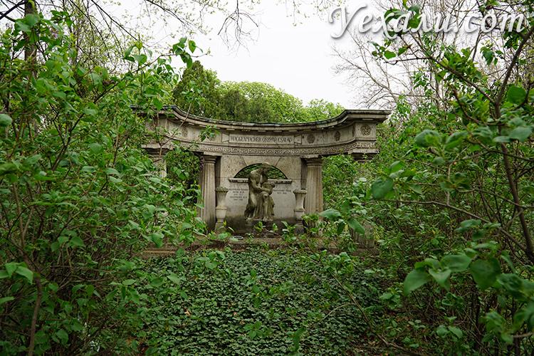Необычные места Будапешта - кладбище Керепеши