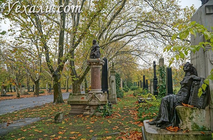 Будапешт, Венгрия. На фото: кладбище Керепеши.