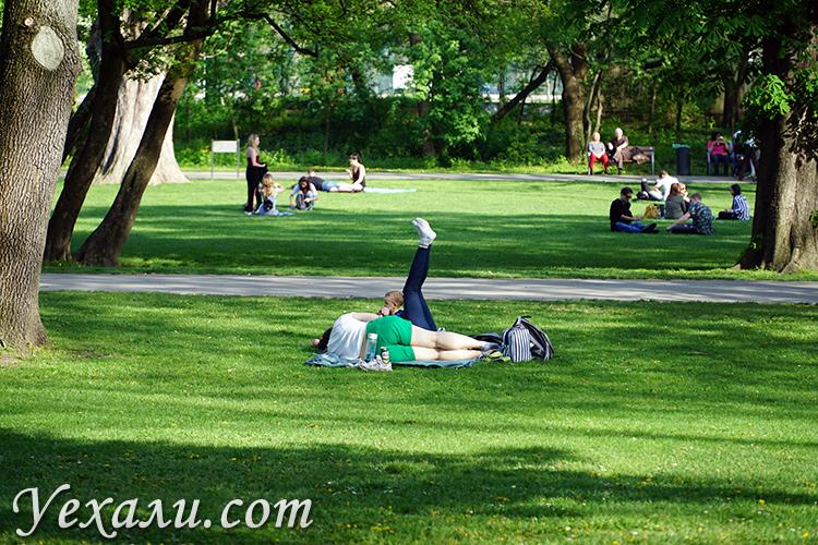 Остров и парк Маргит в Будапеште