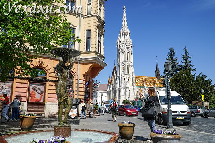 Лучшие фото Будапешта, Венгрия: собор святого Матьяша.