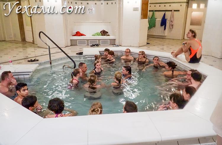 Термальные купальни Сечени в Будапеште, фото и отзывы