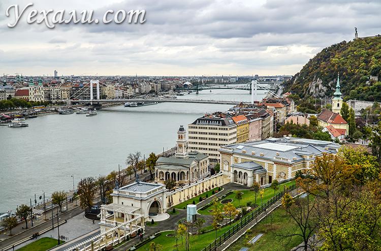Лучшие смотровые площадки Будапешта. Будайский замок.