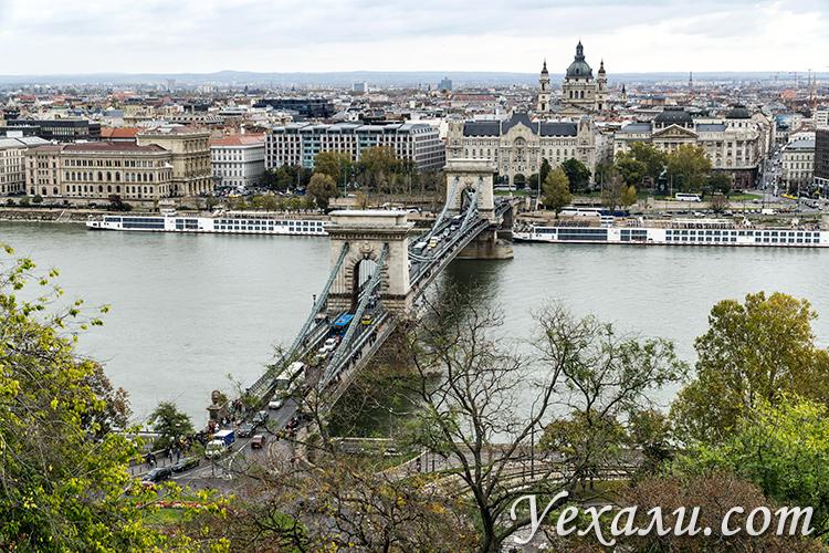Лучшие смотровые площадки Будапешта. Фото от Будайской крепости.