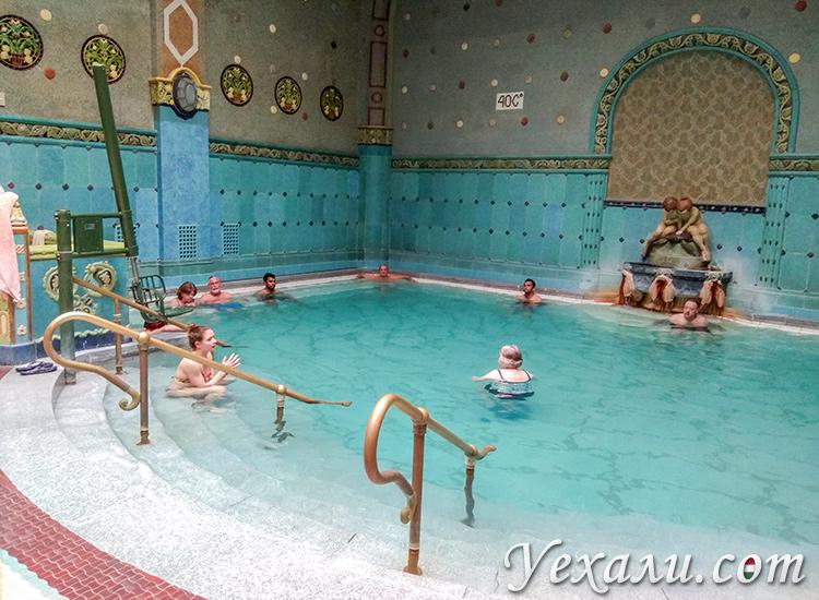 Лучшие купальни Будапешта, Венгрия. На фото: Геллерт.