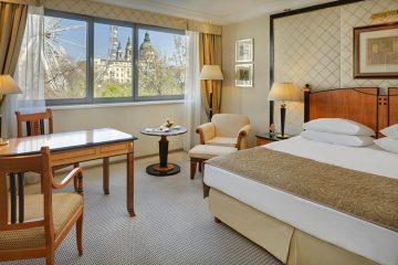 Лучшие отели Будапешта в центре города 5 звезд: Kempinski Hotel Corvinus Budapest.