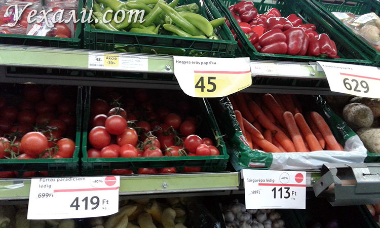 Сколько нужно денег на еду в Будапеште