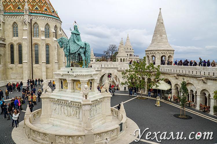 Что посмотреть в Будапеште за 3 дня. На фото: Рыбацкий Бастион.