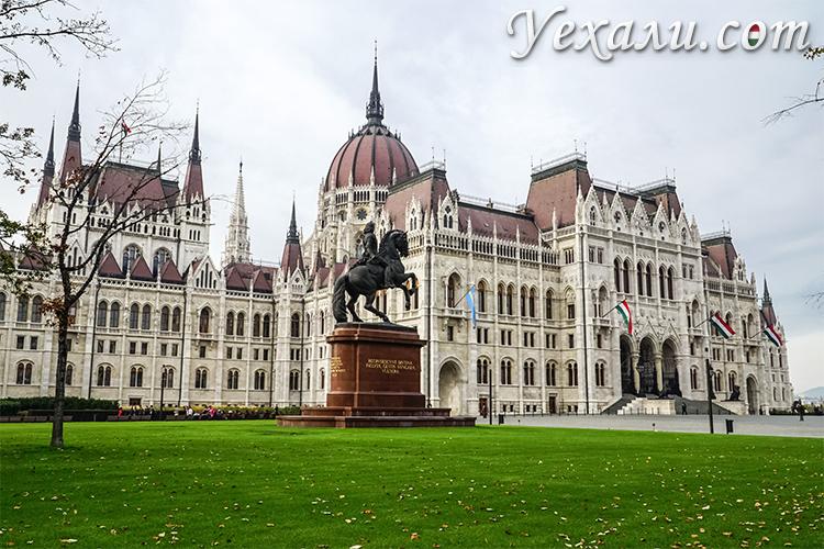 Что посмотреть в Будапеште за 3 дня. На фото: здание венгерского парламента.