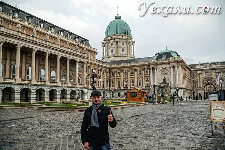 Что посмотреть в Будапеште за 3 дня самостоятельно: Королевский Дворец.