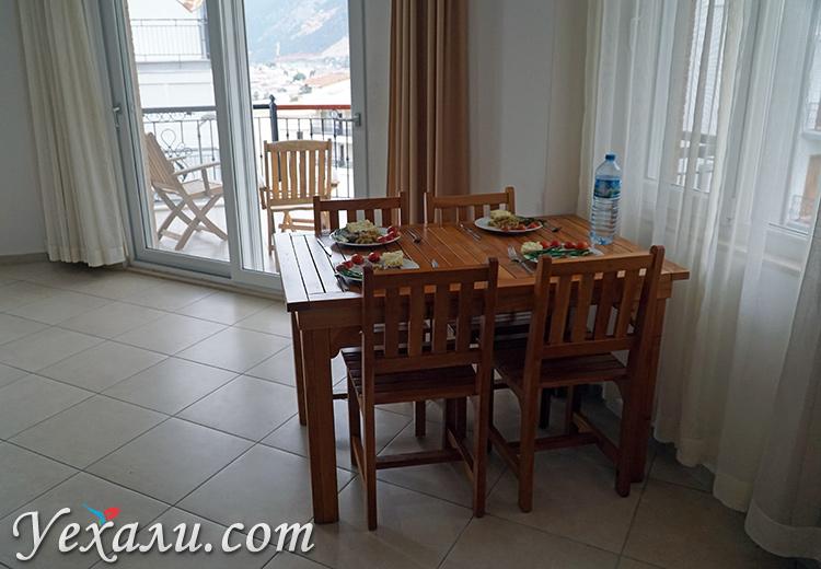 Апарт-отель в аренду в городе Каш Турция