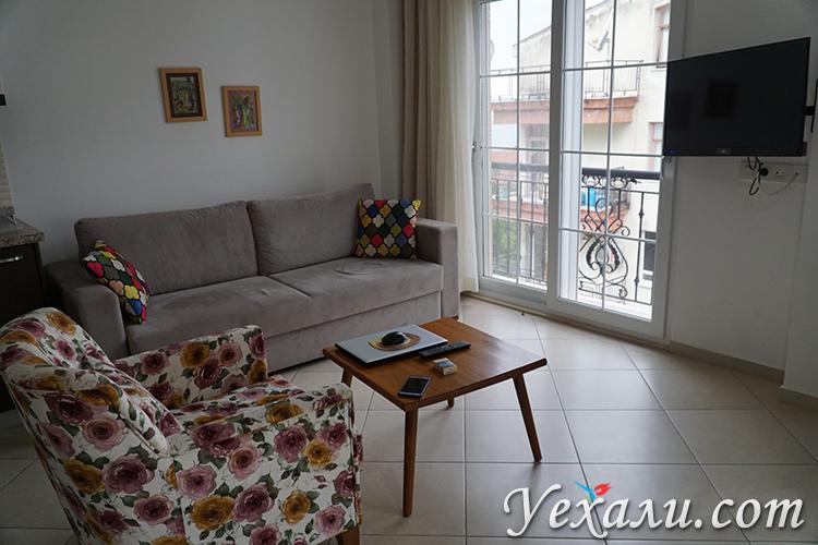 Красивые апартаменты в аренду Каш Турция