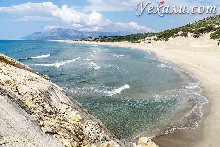 Аренда авто в Турции: пляж Патара.