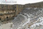 Древний город и амфитеатр Аспендос в Турции: гладиаторы, попугаи и новодел