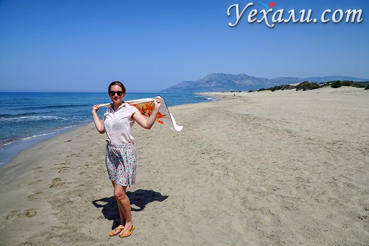 Как выглядят самые красивые пляжи Турции без туристов. На фото: пляж Патара.